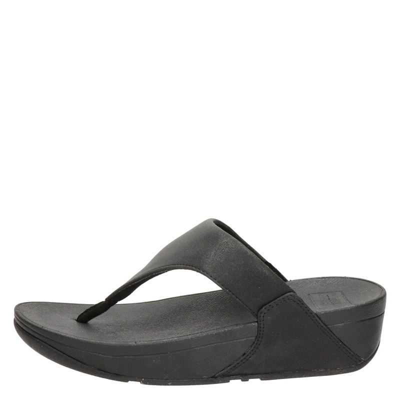 Fitflop Lulu Shimmer - Slippers - Zwart