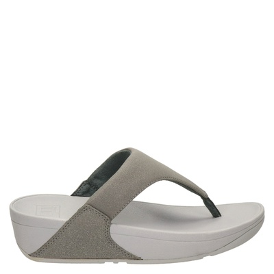 Fitflop Lulu Shimmer - Slippers - Taupe
