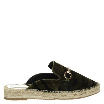La Strada dames slippers groen