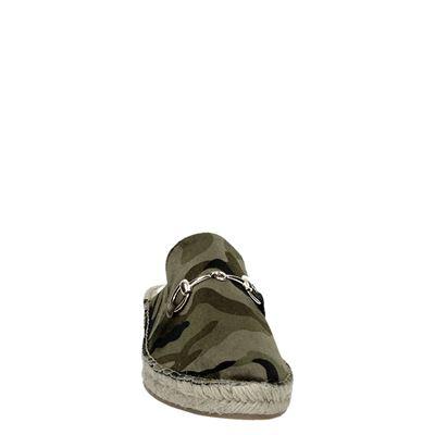 La Strada dames mocassins & loafers Groen