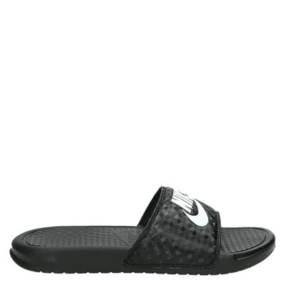 Nike dames slippers zwart