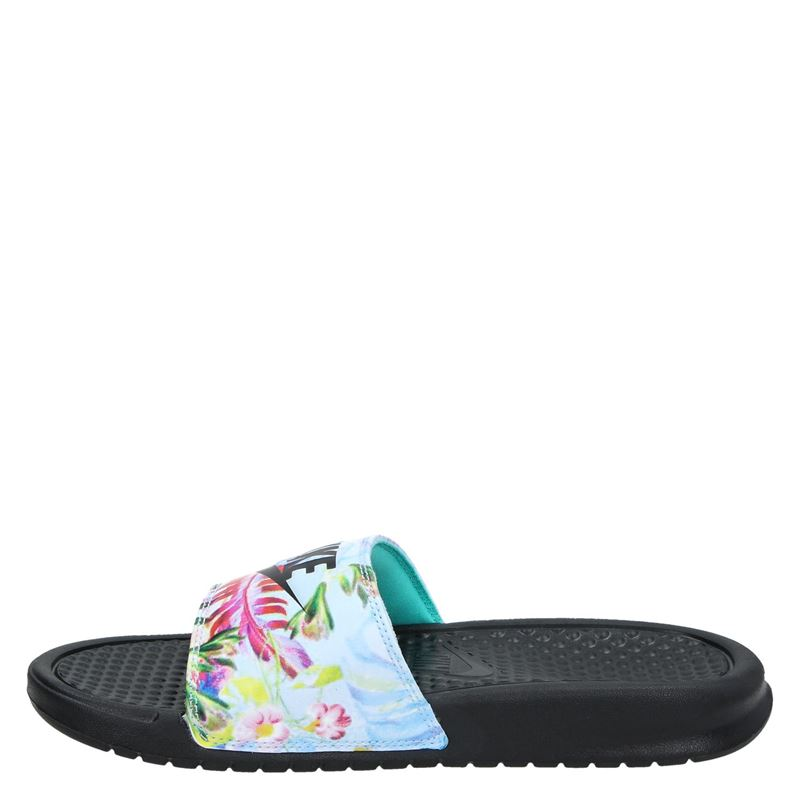Nike Benassi - Slippers - Zwart