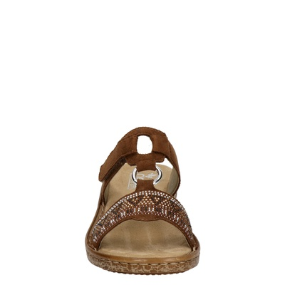 Rieker dames sandalen Cognac
