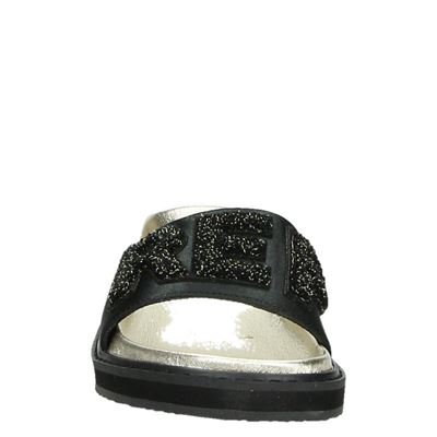 Replay dames slippers Zwart