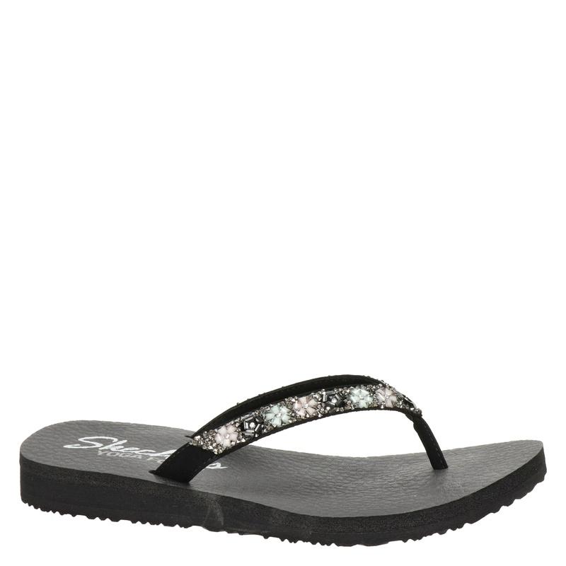 Skechers Cali Meditation - Slippers - Zwart