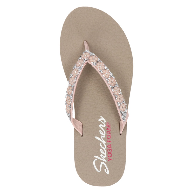 Skechers Cali Meditation - Slippers - Roze