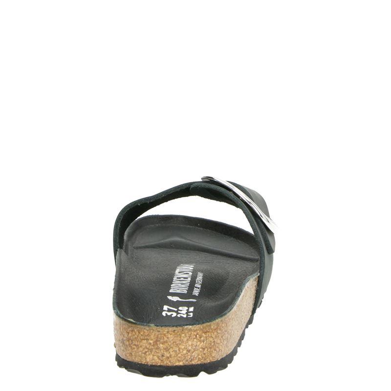 Birkenstock Madrid Big Buckle - Slippers - Zwart