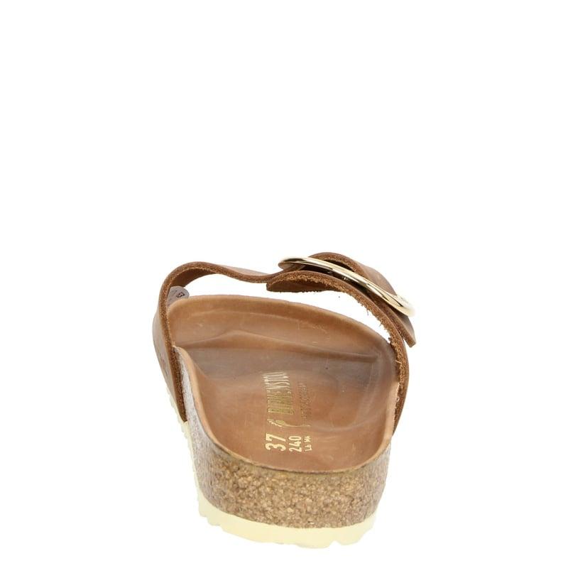 Birkenstock Madrid Big Buckle - Slippers - Cognac
