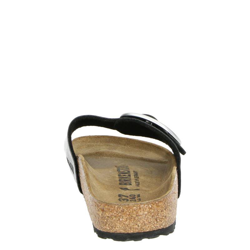 Birkenstock Madrids Big Buckle - Slippers - Zwart
