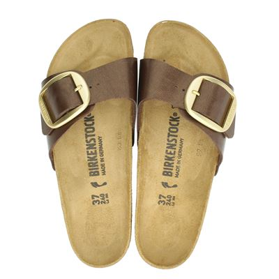 Birkenstock dames slippers brons