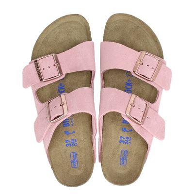 Birkenstock dames slippers roze