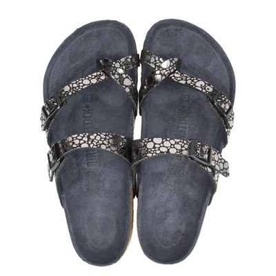 Birkenstock dames slippers zwart