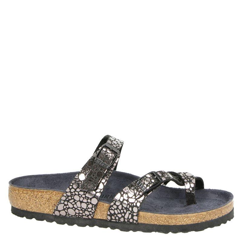 Birkenstock Mayari metallic ston - Slippers - Zwart