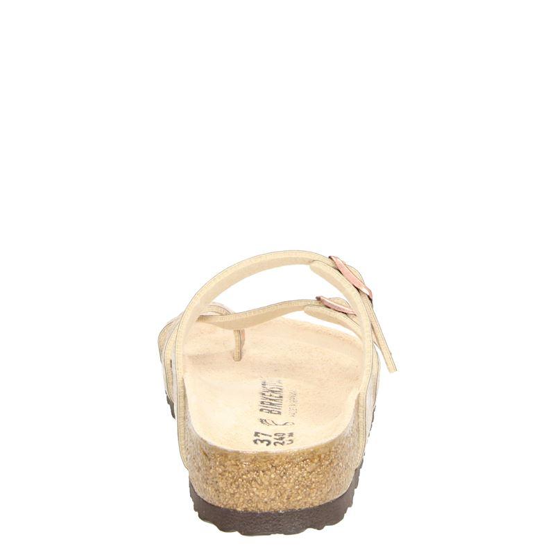 Birkenstock Mayari metallic ston - Slippers - Rose goud