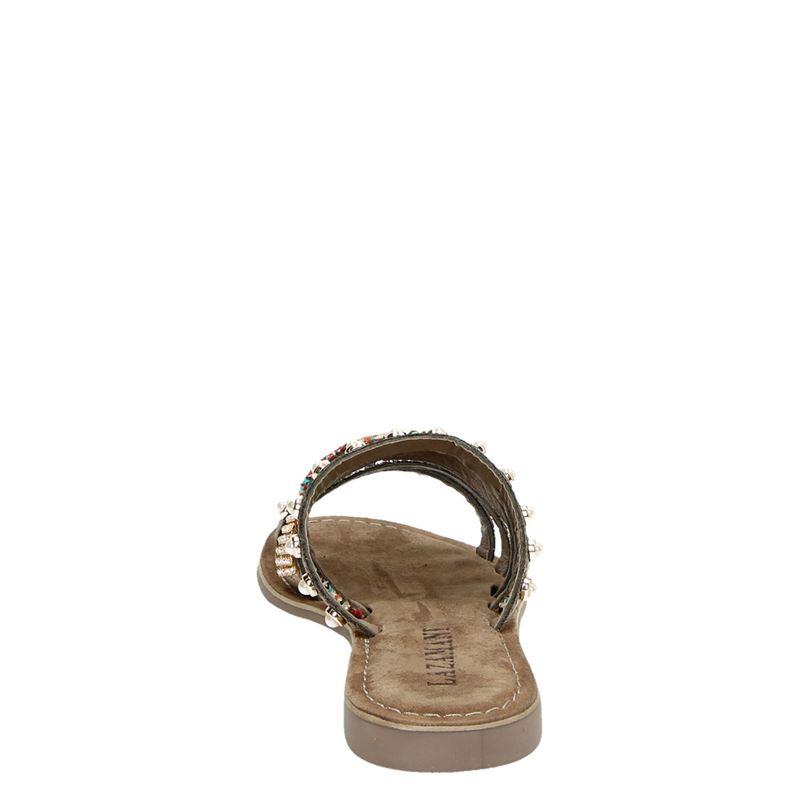 Lazamani - Slippers - Brons