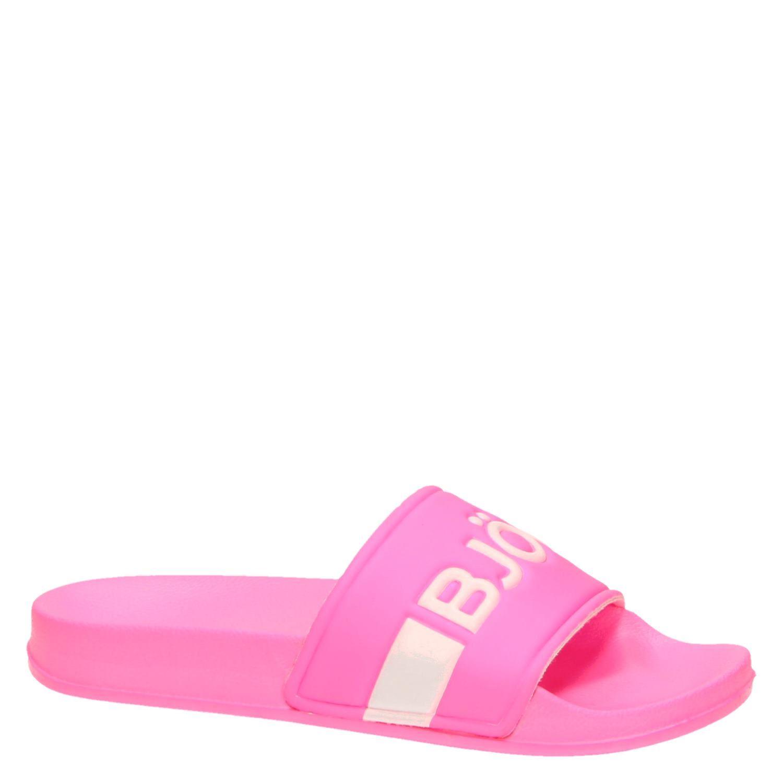 beste authentiek lage prijs verkoop hoge kwaliteit Bjorn Borg Harper II W dames badslippers roze