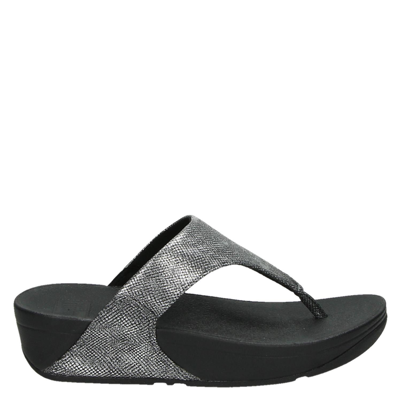 Fitflop Lulu, Sandales Dames - Noir (noir), Taille: 38