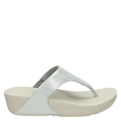 Fitflop dames slippers zilver