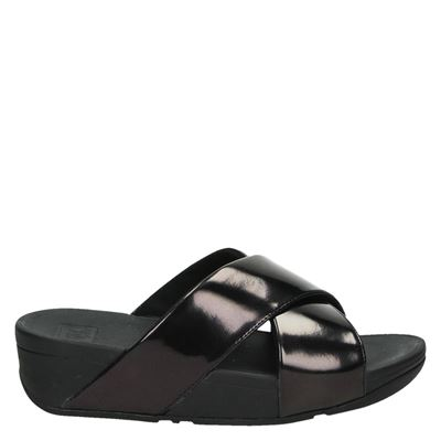 Fitflop dames slippers zwart