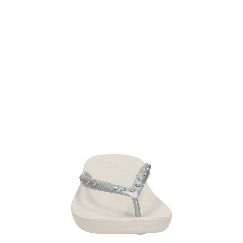Fitflop Iqushion Ergonomic - Slippers - Zilver