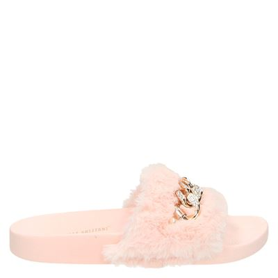 Claudia Ghizzani dames slippers roze