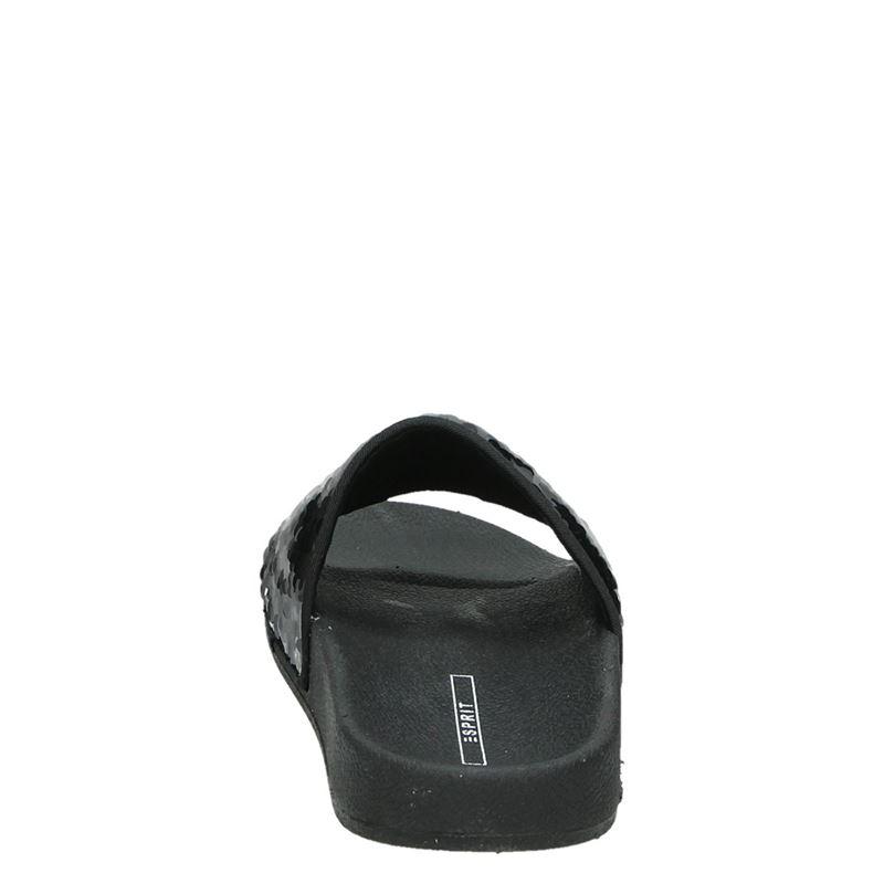 Esprit - Badslippers - Zwart