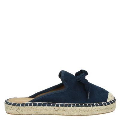 Esprit dames slippers blauw