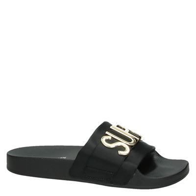 Steve Madden worddames slippers Zwart
