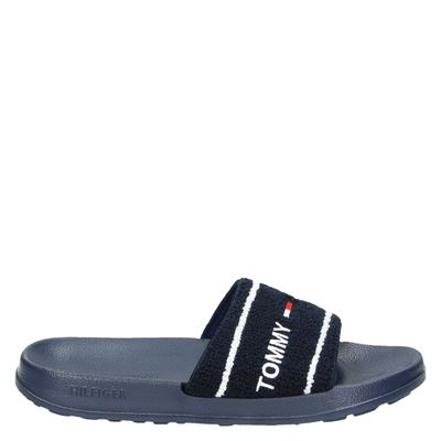 Tommy Jeans dames slippers blauw