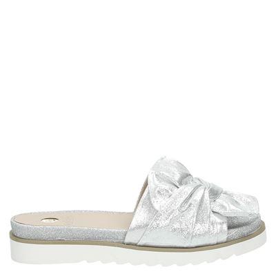 La Strada dames slippers zilver