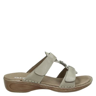 Ara dames slippers taupe