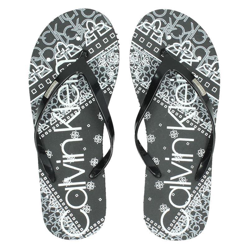 Calvin Klein Samaria - Slippers - Zwart