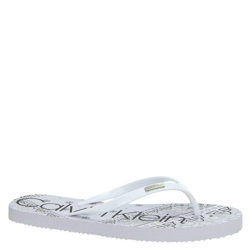 Calvin Klein Samaria - Slippers - Wit