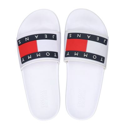 Tommy Jeans Jeans Flag Pool slid - Badslippers