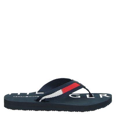 Tommy Hilfiger Sport dames slippers blauw