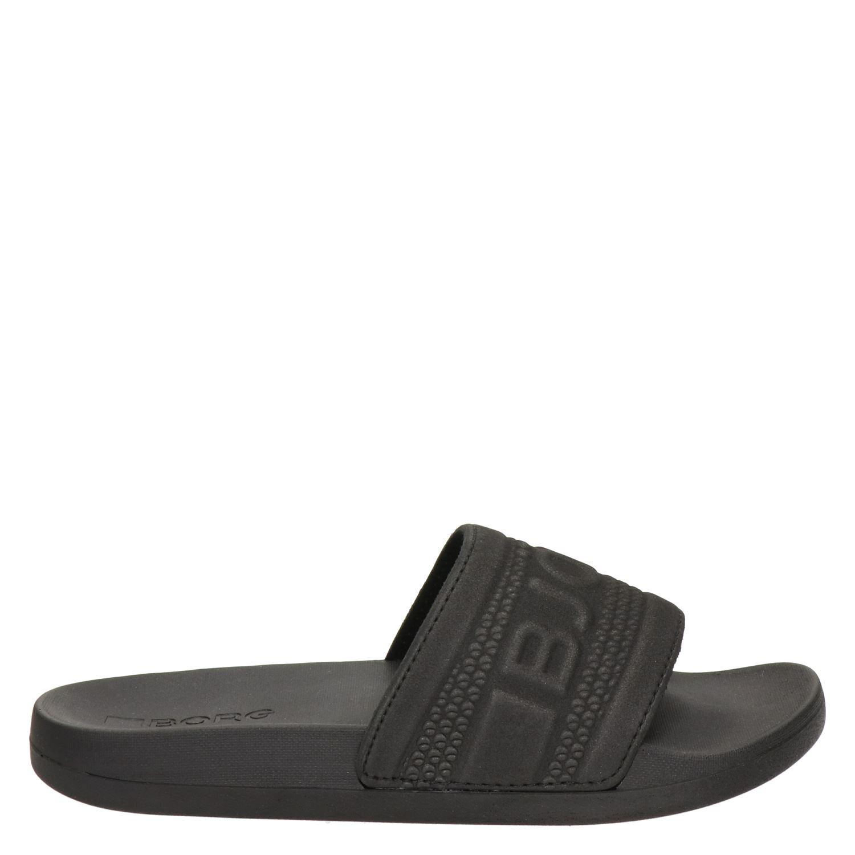 gezellig fris Bij vrijgave exclusieve schoenen Bjorn Borg Romeo W dames badslippers zwart