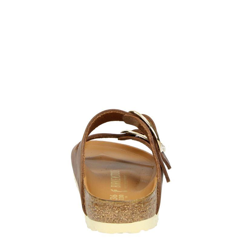 Birkenstock Arizona Big Buckle - Slippers - Cognac