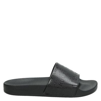 Cruyff dames slippers zwart