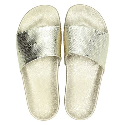 Cruyff dames slippers goud