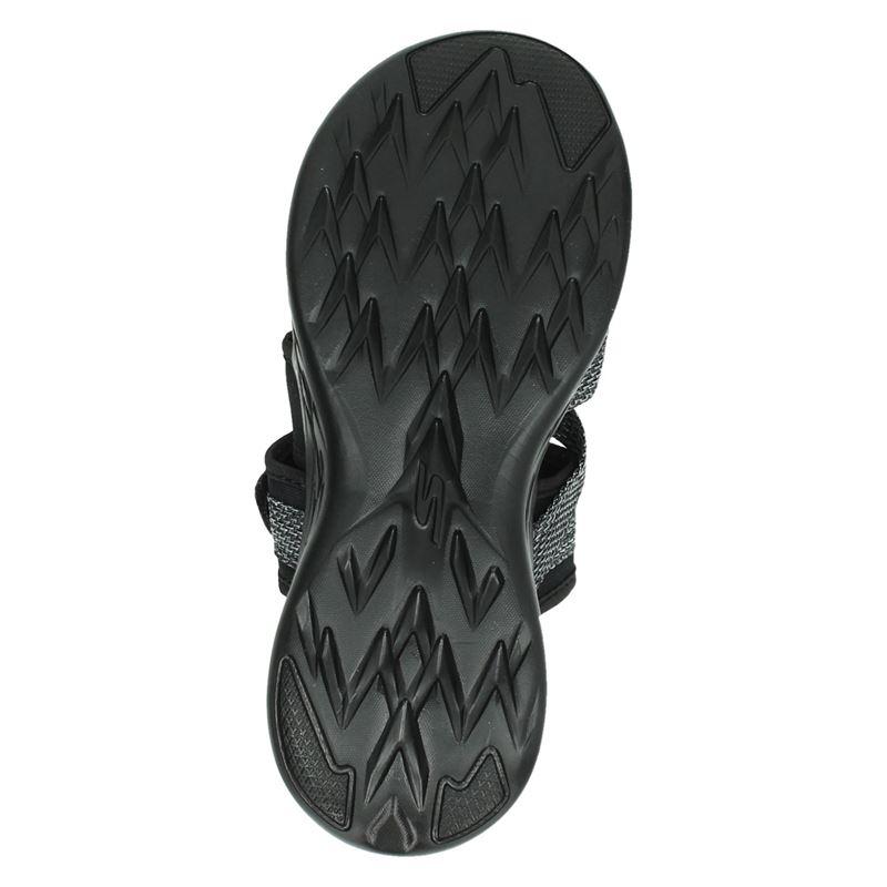 Skechers Goga Max - Slippers - Zwart