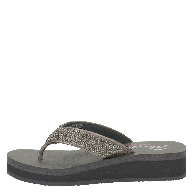 Skechers Vinyasa Beach League - Slippers - Zwart