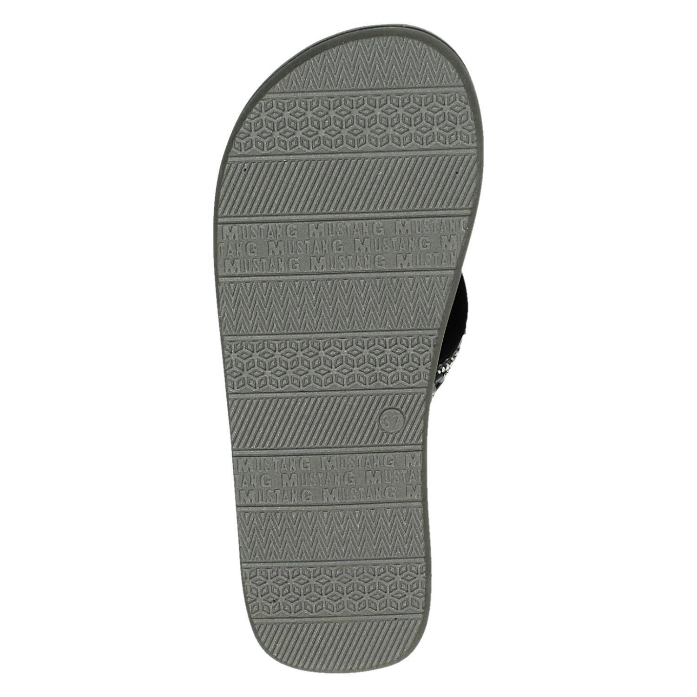 Mustang - Slippers voor dames - Zwart GjLV804