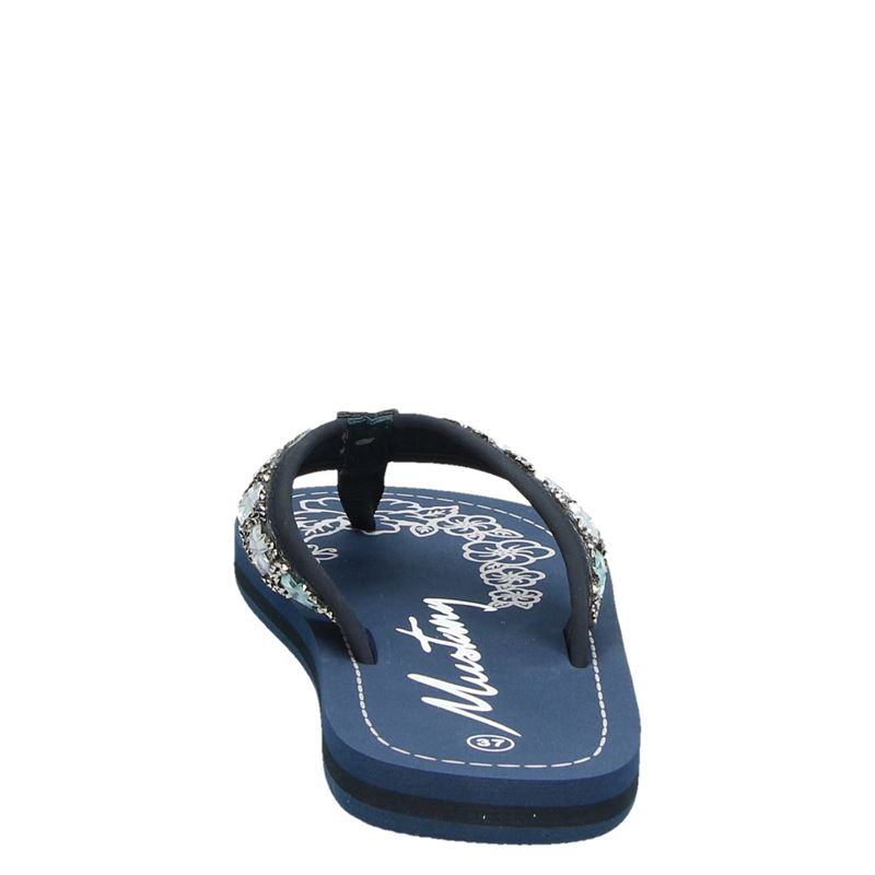 Mustang - Slippers - Blauw
