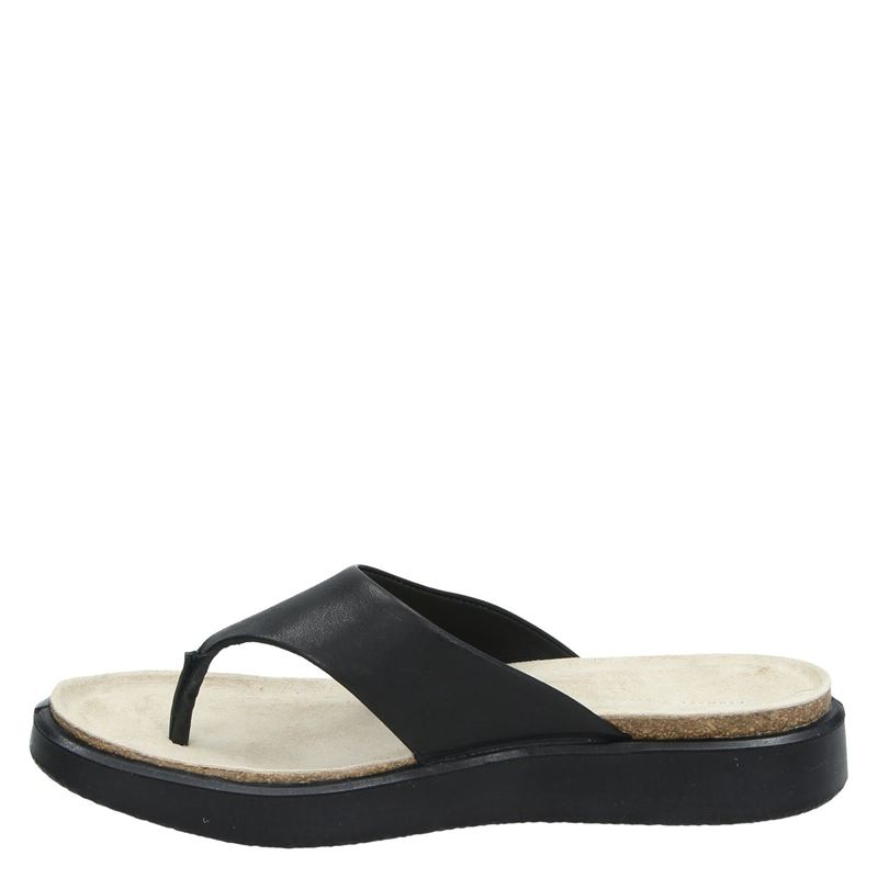 Ecco Corksphere - Slippers - Zwart