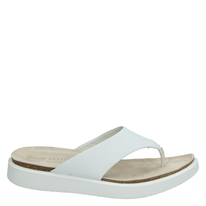 Ecco Corksphere - Slippers voor dames - Wit OUXmpFk