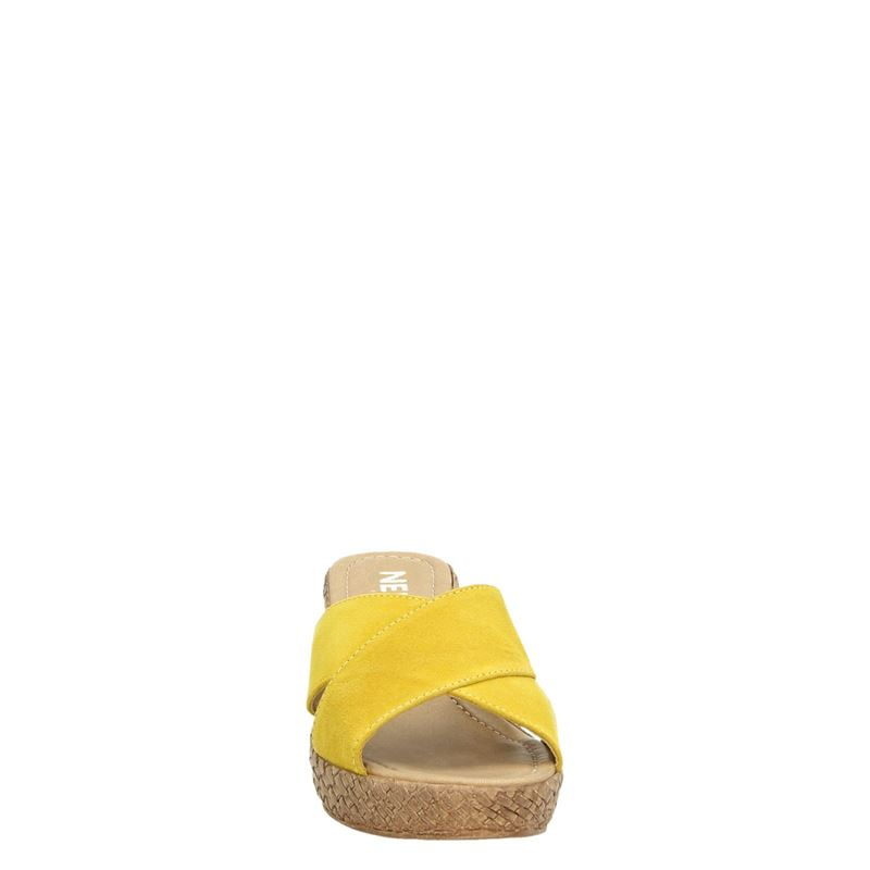 Nelson - Slippers - Geel