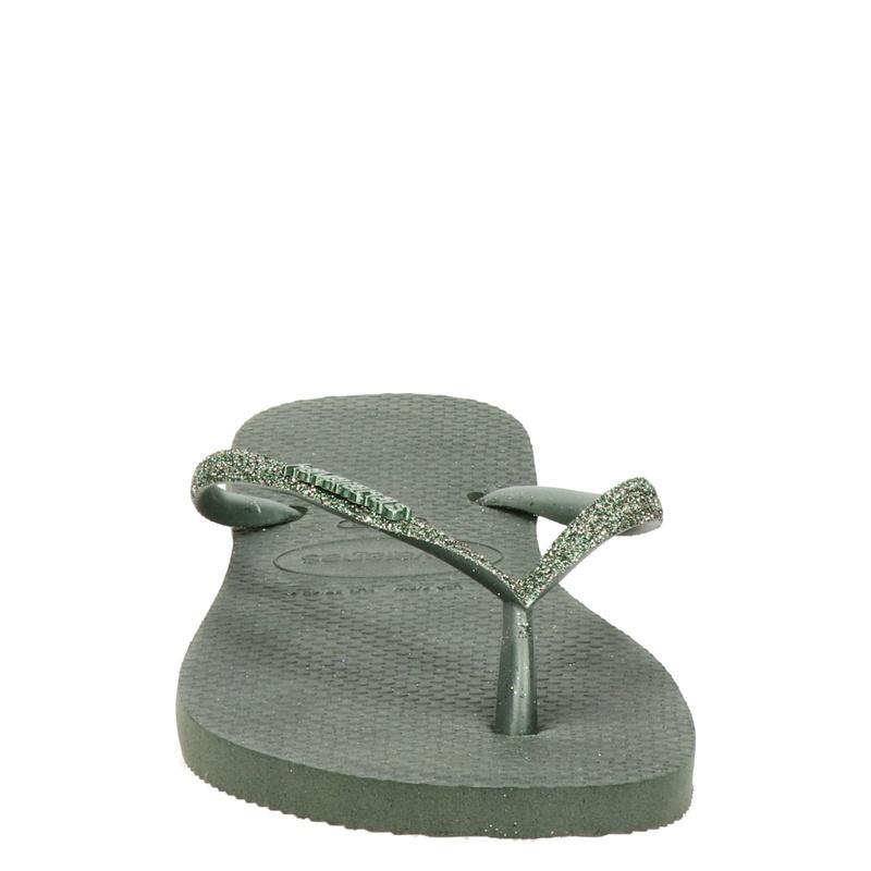 Havaianas Slim - Slippers - Groen
