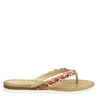 Dolcis dames slippers beige
