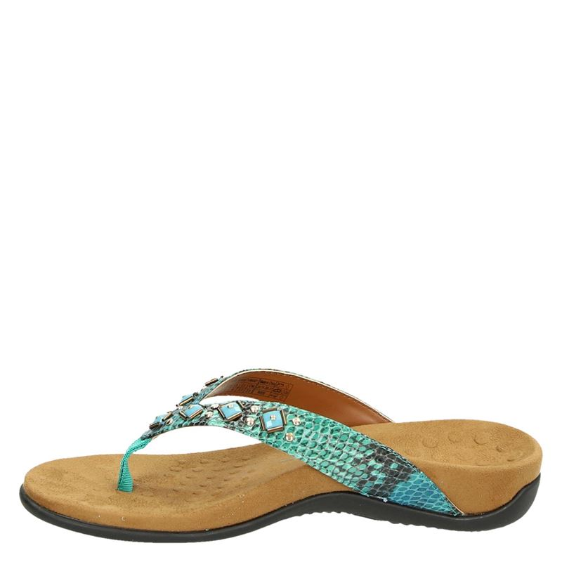 Vionic Floriana - Slippers - Blauw