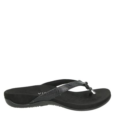 Vionic dames slippers zwart